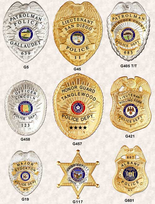 police badges GA-REL Panel Badges Page 6 GAREL